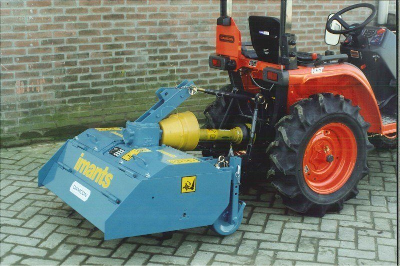 Small Tractor Rotavator Damcon